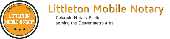 Littleton Mobile Notary